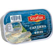 Сардина Gold Fish атлантическая филе в масле