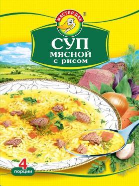 Суп Мастер Дак Мясной с рисом