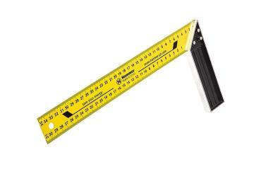 Угольник столярный 601-029 350 мм., алюминий, Hammer Flex, 130 гр.