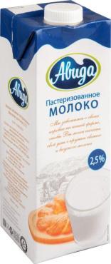 Молоко Авида 2,5%, 1л