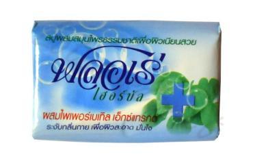 Мыло антибактериальное Lion Flore Herbal Bar Soap Piperbetle с экстрактом Бетеля