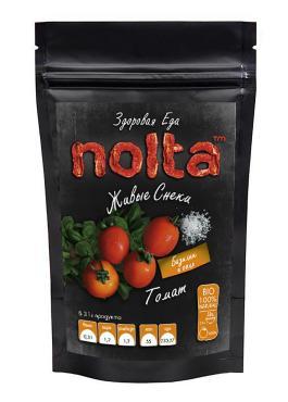 Чипсы овощные Томат с зеленью и базиликом, NOLTA, 50 гр., дой-пак