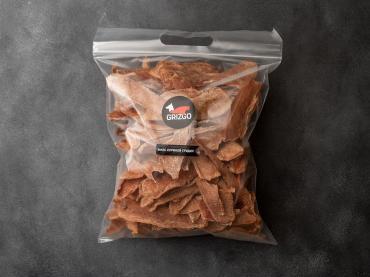 Филе грудки куриной, сушёное лакомство, 1000 гр., GRIZGO, пластиковый пакет