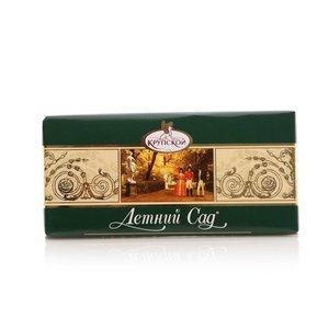 Шоколад темный десертный без добавлений Фабрика Крупской Летний сад, 90 гр., обертка фольга/бумага