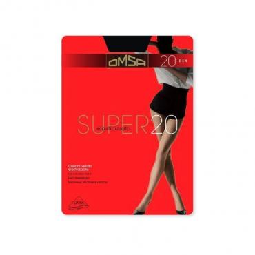 Колготки OMSA SUPER nero 20 den, размер 2