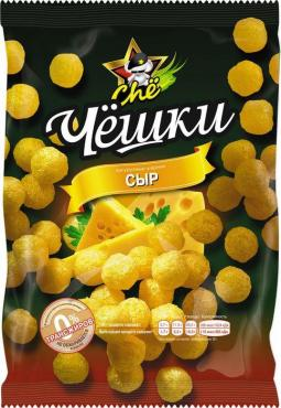 Кукурузные шарики Чёшки Со вкусом сыра, Chё, 60 гр, флоу-пак