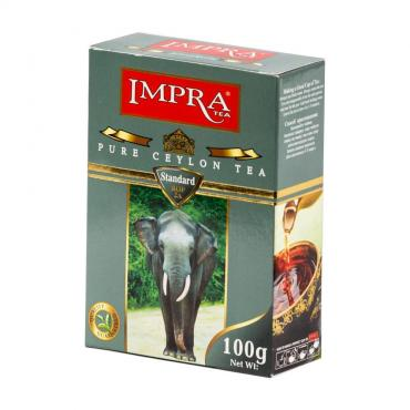 Чай Impra, Grey Standard чёрный цейлонский мелколистовой, 100 гр., картон