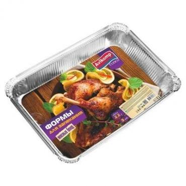 Формы для запекания мясных блюд, 2,2 л., 3 шт., Cuoco