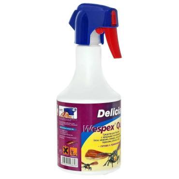 Профессиональный спрей Delicia Wespex Quick От шершней пчел любых летающих и ползающих насекомых