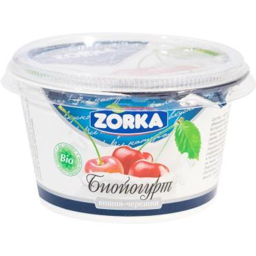 Йогурт вишня-черешня 2,5 % Купино Zorka, 150 мл.