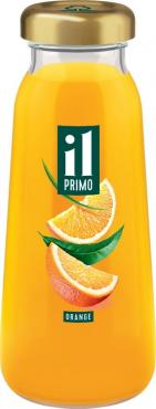 Сок апельсиновый,  IL PRIMO, 200 мл., стекло