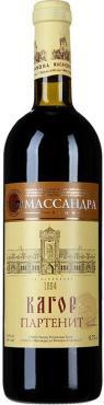 Вино ликерное партенит красное Массандра Кагор 16 %, Россия, 750 мл., стекло