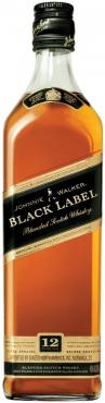 Виски шотландский купажированный 12 лет Johnnie Walker Black Label 40 %, 500 мл., стекло