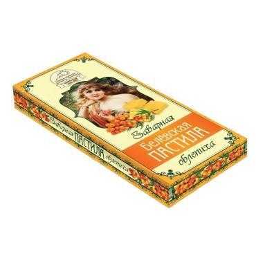 Пастила заварная Облепиха, Белевская, 250 гр., картонная коробка
