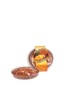 Торт бисквитный абрикосовый, 400 гр., пластиковая упаковка