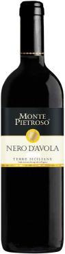 Вино Монте Пьетрозо Неро Д'Авола Сицилия, Италия