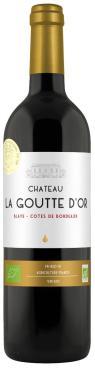 Вино Chateau La Goutte d'Or Blaye Côtes De Bordeaux сухое красное 13,5%