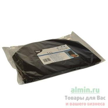 Колпак поварской су-шефский 230 мм., одноразовый бумага черный 10 шт., Papstar Прованс, пластиковый пакет