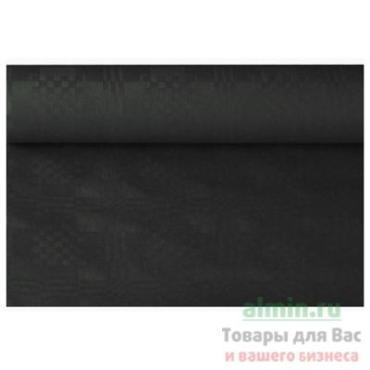 Скатерть бумажная Ш120 см., 8 м. в рулоне черная Papstar