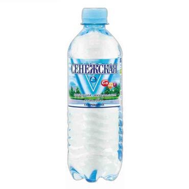 Вода питьевая газированная Сенежская 500 мл., ПЭТ