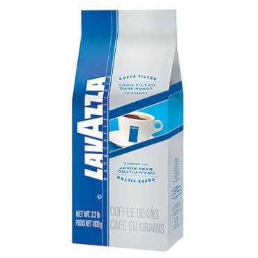 Кофе в зернах натуральный LAVAZZA Gran Filtro , 1 кг., бумажная упаковка