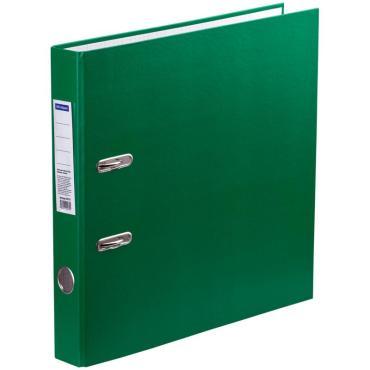 Папка-регистратор OfficeSpace,  50мм, бумвинил, зеленая