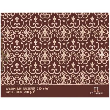 Альбом для пастели Palazzo Modern А3, 297х420 мм, 20 листов 10 л. бумаги 280 г/м2, 10 л. кальки, сутаж, слоновая кость