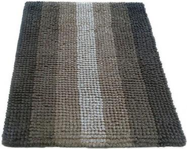 Коврик 60*90 см., бежевый Shahintex Multimakaron, 887 гр.