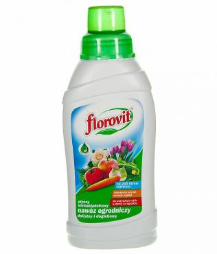 Удобрение жидкое Florovit Универсальное для цветов декоративных деревьев овощных культур