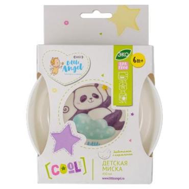 Глубокая тарелочка, 430 мл., Little Angel Panda LA1104, бумажная упаковка