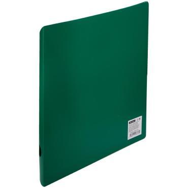 Папка на 2 кольцах OfficeSpace, 40мм, 500мкм, зеленая
