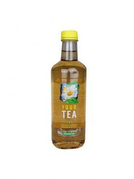 Напиток б/а негаз. Зеленый чай со вкусом алоэ вера, ромашки, женьшеня и мяты, Дарида, 1 л., ПЭТ