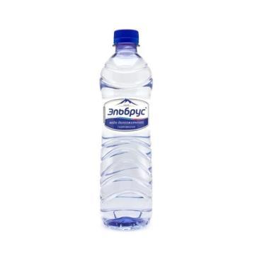 Минеральная вода Эльбрус газированная ПЭТ, 500мл