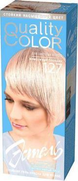 Гель краска для волос 127 Жемчужный блонд ESTEL Vital Quality Color, 115 мл., картонная коробка