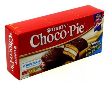 Пирожное, OrionChocoPie, 180 гр., картонная коробка