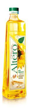 Масло подсолнечное Altero с добавлением масла зародышей пшеницы
