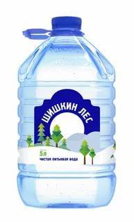 Вода Шишкин Лес 5 л., пластиковая бутылка