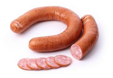 Колбаса полукопченая Брестский мясокомбинат Кубанская, 3 кг., оболочка