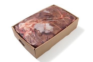 Печень говяжья, Импорт, 18 кг., картонная коробка