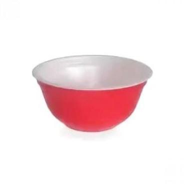 Контейнер-миска для супа 500мл, d-135мм, h-65мм красная, впс с коутингом 480 шт Протэк, картонная коробка