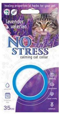 Ошейник для кошек успокаивающий, 35 см., No Stress, блистер