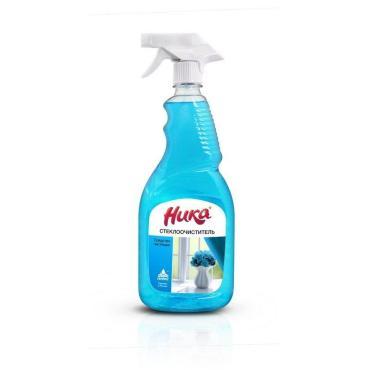 Средство для мытья стекол с триггером Ника 750 мл., ПЭТ