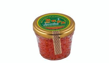 Икра красная лососевая, Д/Восток, 90 гр., стекло