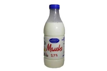 Молоко 3,2-3,4% Молочный Мир 950 мл., пластиковая бутылка