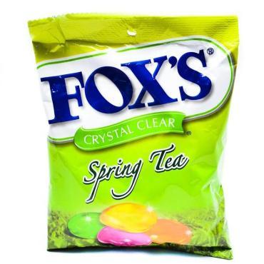Конфеты Spring Tea,  Fox's, 90 гр., флоу-пак