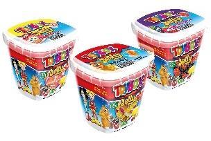 Жевательный мармелад ежевика с игрушкой Toybox, 220 гр., пластиковый стакан
