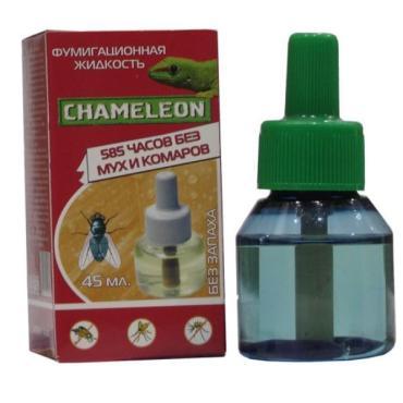 Жидкость от мух и комаров на 430 ч., Chameleon 30 мл., картонная коробка