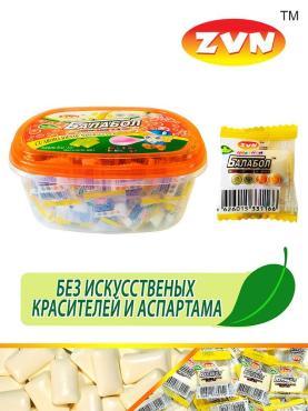 Жевательная резинка со вкусом банана и мяты ZVN Цветной балабол 2,5 гр., сашет