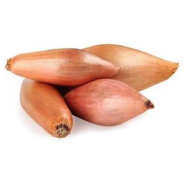 Лук Шаллот банановый Колумбия, 1 кг., пакет