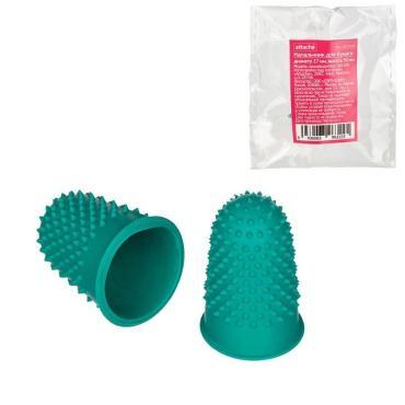 Напальчник для бумаги Attache d=18 мм, высота 33 мм, резин.